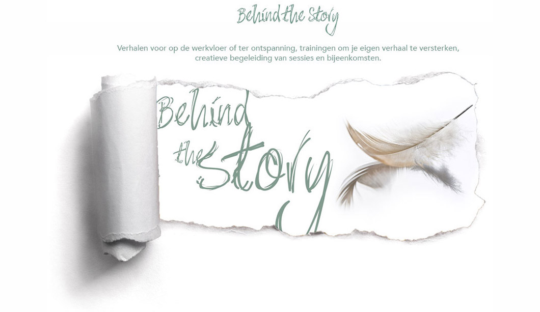 Behind the Story - Janneke Tanja